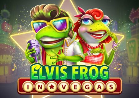 Elvis Frog in Vegas Slot